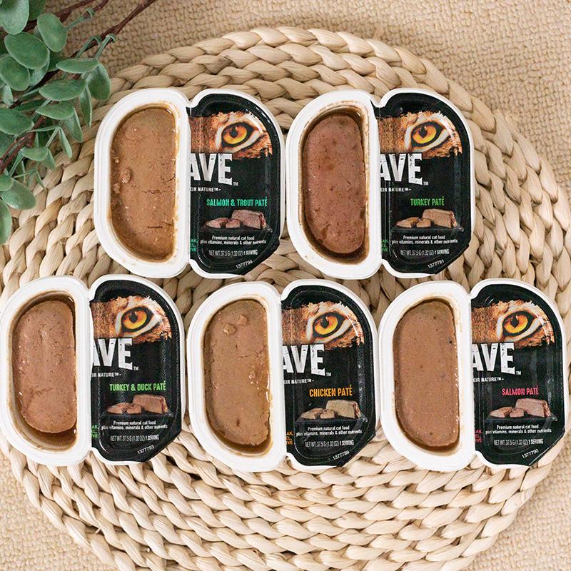 美国美士同公司Crave热望高蛋白无谷主食猫罐头75g*6盒套装