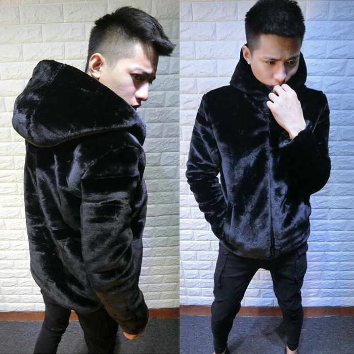 Gaudi, Kwai, the same man, winter jacket, social spirit, mink, wool cotton clothes, thick coat.
