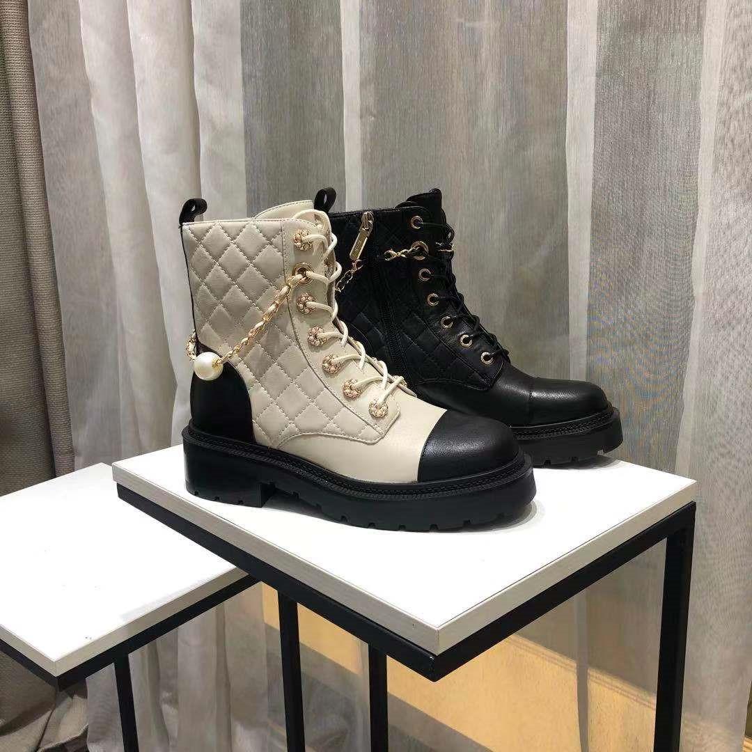 正品Kiss Kitty2021秋冬款小香风瘦瘦靴真皮骑士女短靴SA21513-39