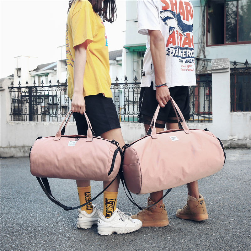 Fashion and light sports fitness bag waterproof portable travel bag mens and womens single shoulder bag luggage boarding bag with shoes