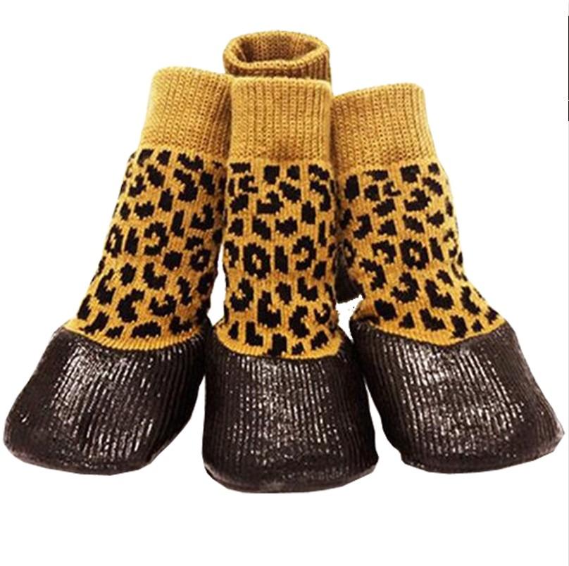 狗狗防水襪寵物鞋小狗鞋襪泰迪比熊軟底鞋中大型犬散步鞋金毛鞋襪