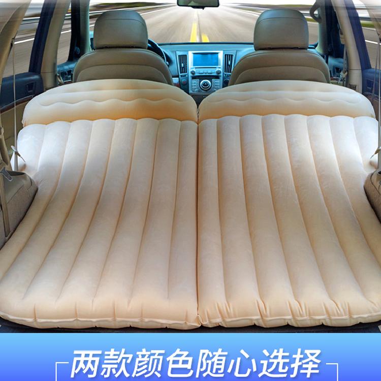 大众辉昂宝来蔚领朗行汽车充气床垫SUV专用后备箱睡垫车载后排气(用1元券)