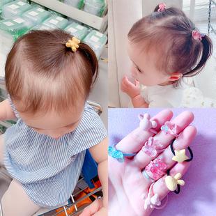 婴儿头绳不伤发发圈发量少女宝宝高弹力橡皮筋扎头发小皮筋发饰