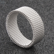 Ring Man Titanium Steel Overbearing Creative Hollow-out Deformation Ring Japanese and Korean Students Individual Single Forefinger Ring Male