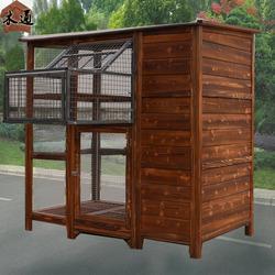 户外木制鸽舍阳台鸽子笼家用小号鸽子繁殖箱木制鸽舍室外木鸽棚大