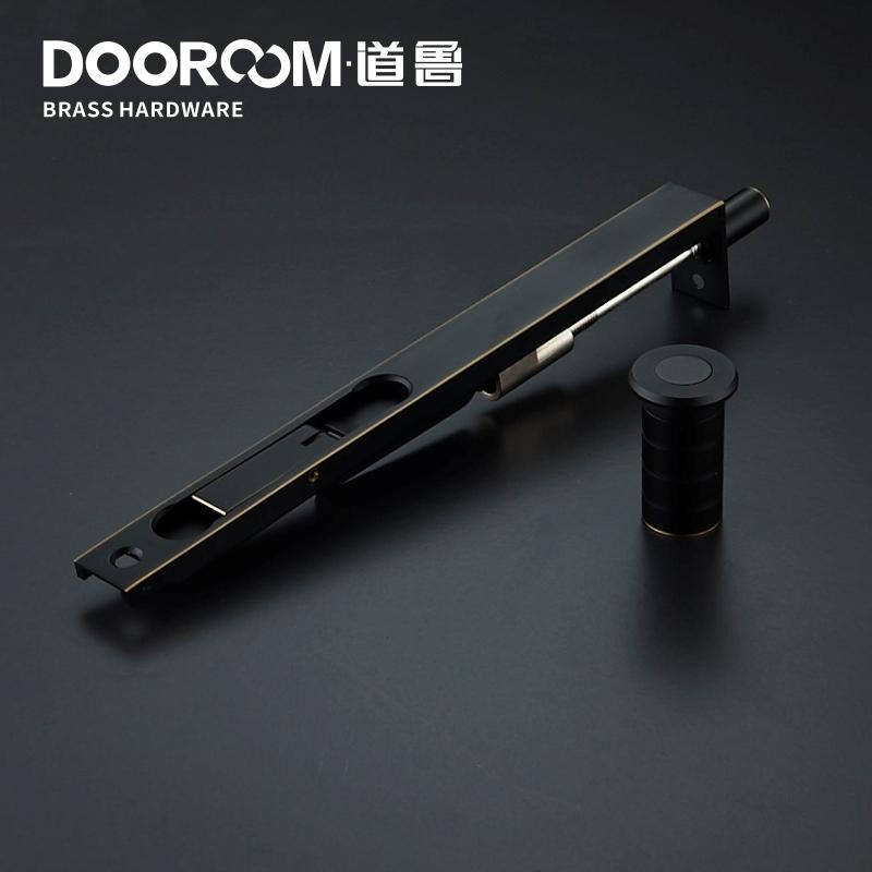 Дорога провинция шаньдун медь ворота болт простой черный теперь поколение 8 дюймовый 10 дюймовый 12 дюймовый 24 дюймовый двойной открыто картина ворота скрывать стиль болт медь