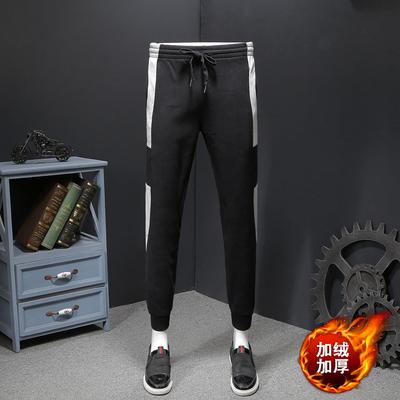 加绒加厚 休闲裤男加大码 货号7723款P78