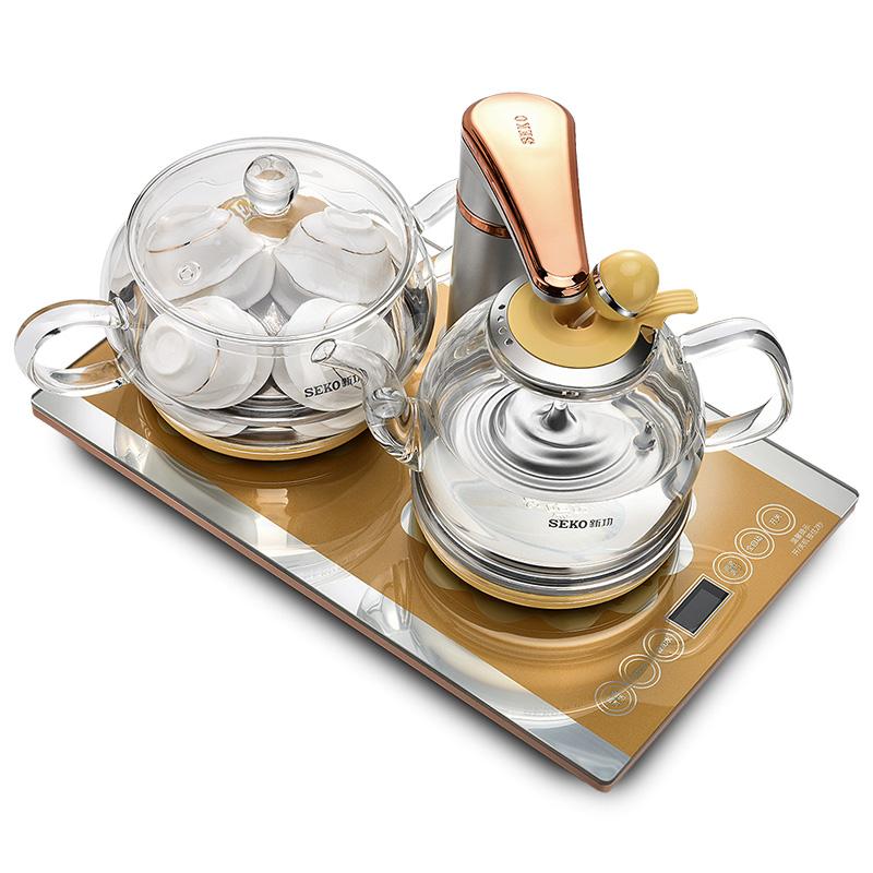 新功全自动上水电玻璃泡茶电茶炉评测参考