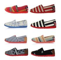 夏季老北京布鞋女鞋低帮帆布鞋女韩版懒人一脚蹬平底休闲鞋玛丽鞋