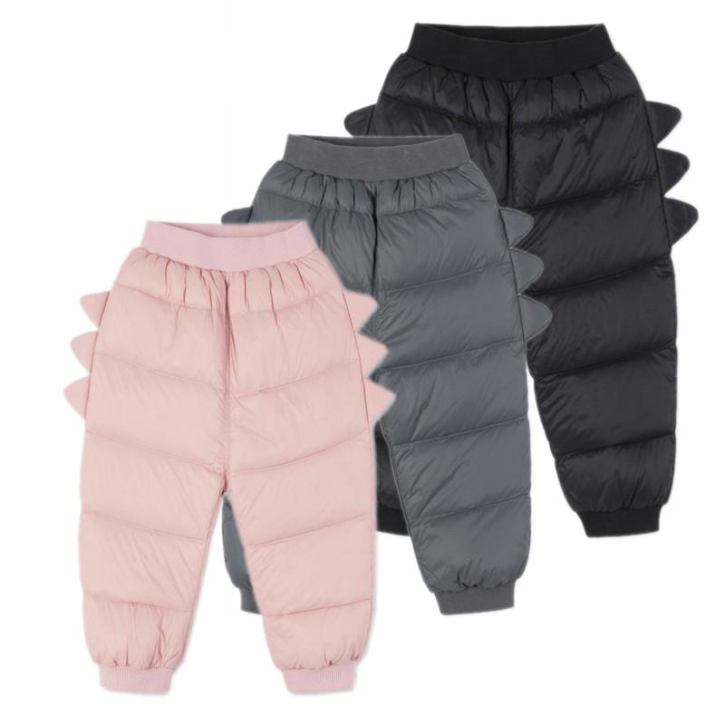 巴拉球球巴拉冬婴幼童儿童羽绒裤男童女童小幼童宝宝保暖羽绒裤子
