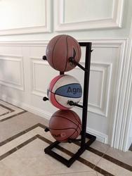 家用篮球架排球足球羽毛球拍健身器材收纳整理摆放节省空间置物架