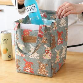 手提便当包饭盒袋便当盒带饭包牛津布冰包大号手提包饭盒包保温