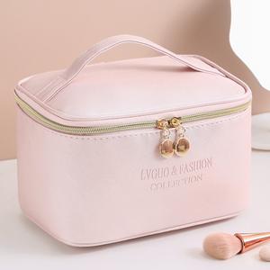 化妆包便携防水大容量收纳包2021新款化妆品盒箱手提袋洗漱包日韩