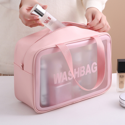 Cosmetic bag 2020 new super fire ins wind large capacity portable female travel waterproof toiletry storage bag portable
