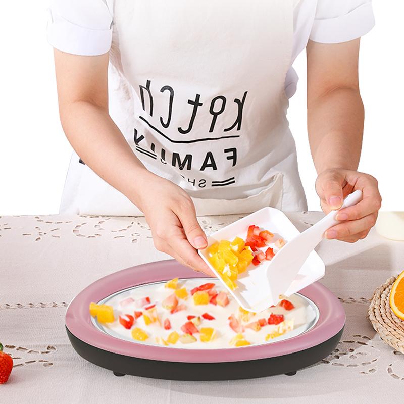荣事达炒酸奶机家用小型自制雪糕机