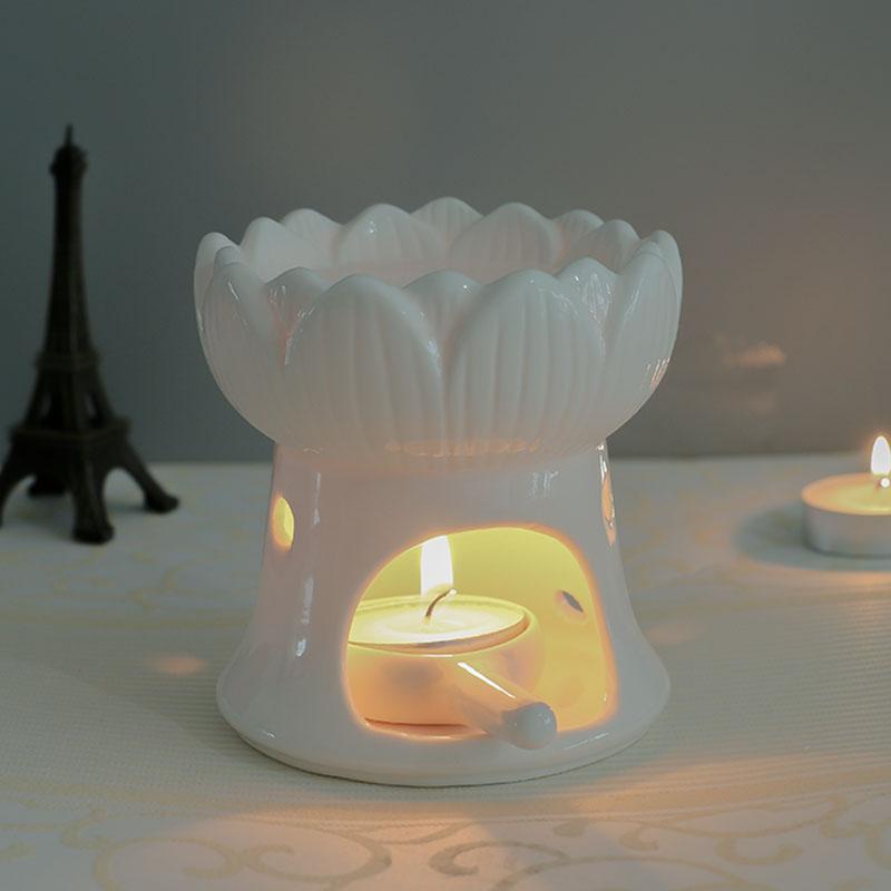 ロウソクアロマ炉アロマランプ寝室のセラミックキャンドル薫炉精油家庭美容院室内