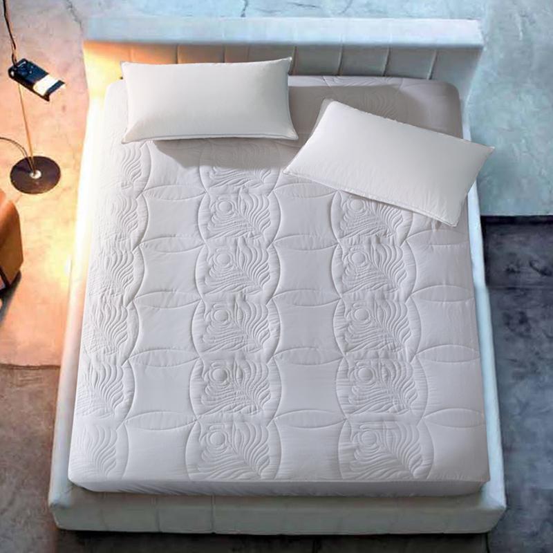 康尔馨酒店床笠保护垫子床垫1.8m床褥席梦思防滑可水洗保护垫双人限时抢购