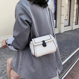 ins超火复古时尚小包包女2020新款韩版时尚网红百搭链条单肩斜挎