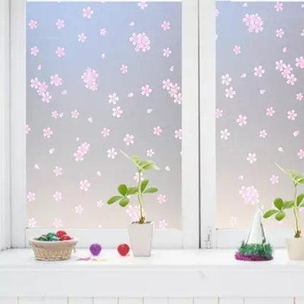 无胶静电磨砂玻璃贴膜窗户移门透光不透明窗贴浴室卫生间防晒窗纸