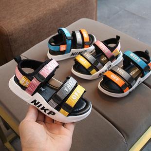 凉鞋男童软底沙滩学步鞋6岁531婴儿鞋童鞋一岁半女宝宝夏季鞋子