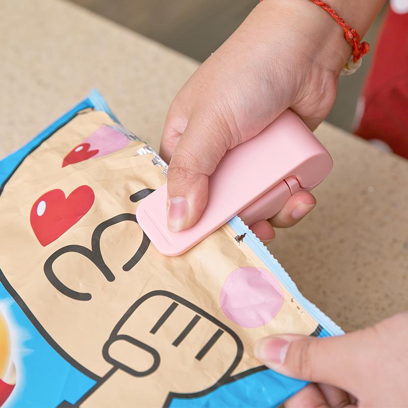 日本LEC封口机手压迷你塑料袋子电热封口器保鲜袋密封器封口夹