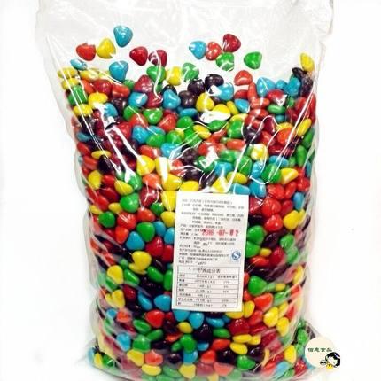 散装小颗粒包邮喜糖心形巧克力糖