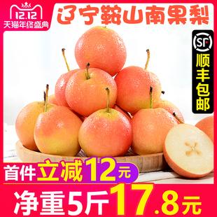 甘福园 辽宁鞍山南果梨5斤新鲜当季水果香水南国梨子东北特产包邮品牌
