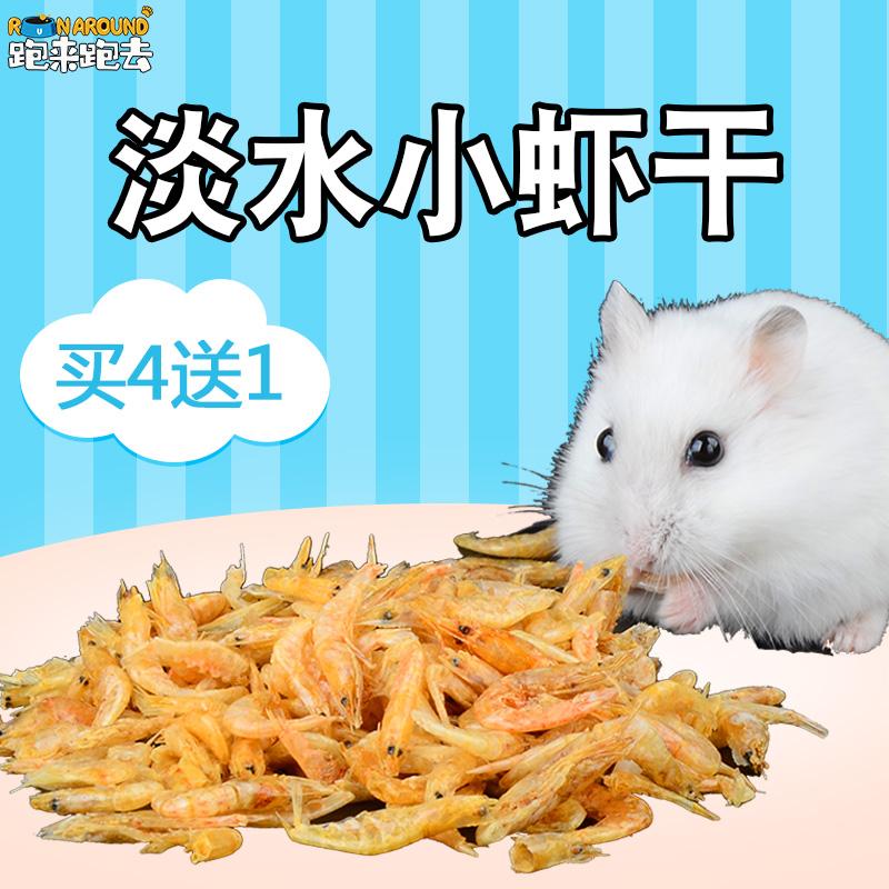 [跑来跑去宠物用品饲料,零食]仓鼠零食淡水小虾干鱼干用品主粮鼠粮均yabo228850件仅售1.5元