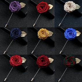 包邮潮流饰品西装红色男女领针领花