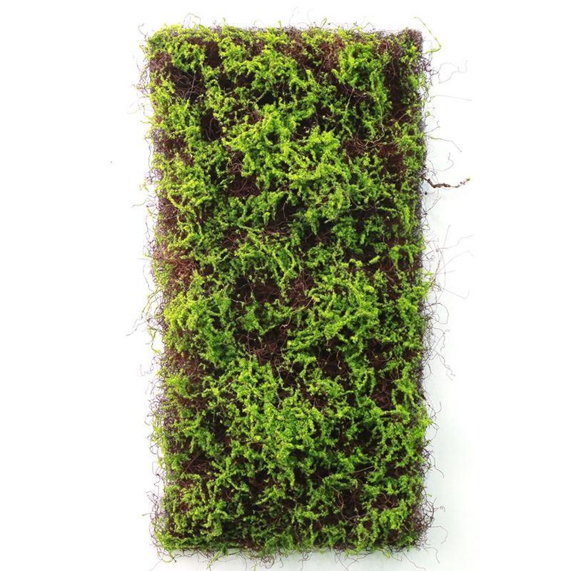 人造绿色植物墙面装饰背景墙仿真永生苔藓墙青苔草皮塑料草坪绿植