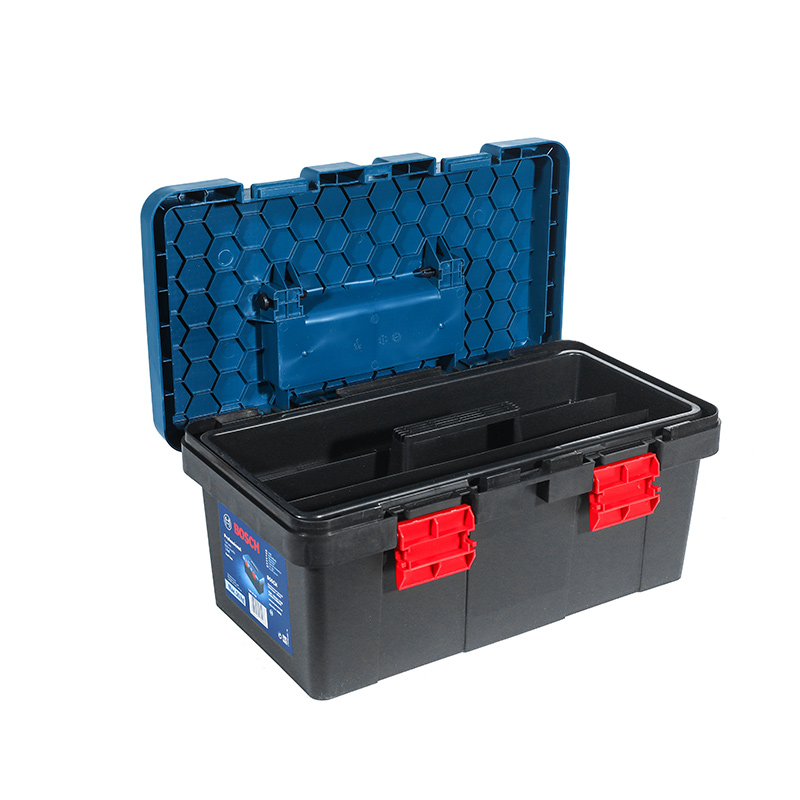 Bosch Large Household Multifunctional Hardware Maintenance Toolbox Receiving Box, Car-borne Parts Box, Plastic Suitcase