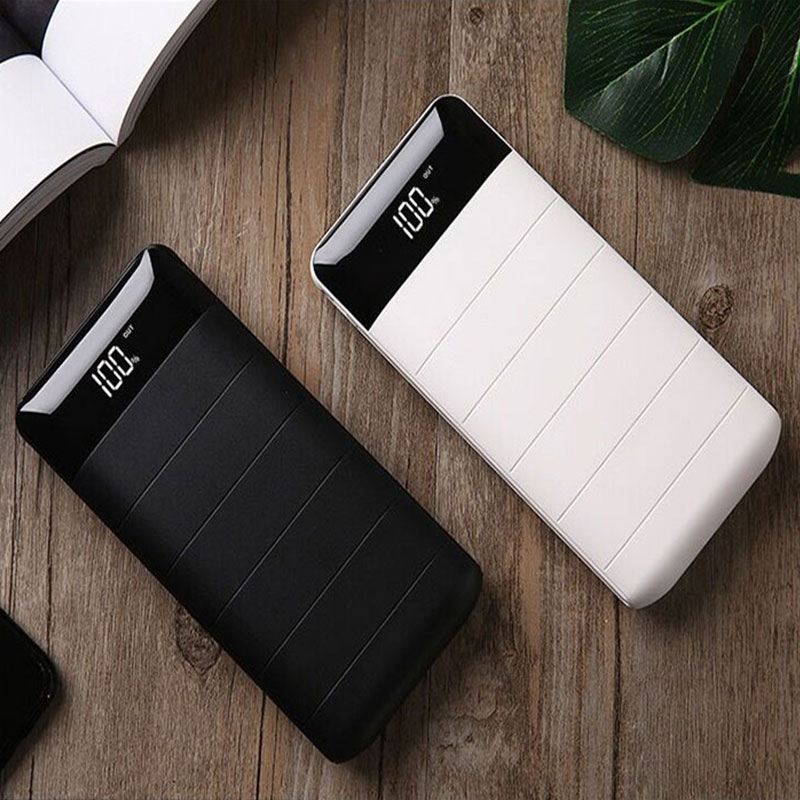 充电宝2万毫安移动电源20000毫安液晶显示手机快充大容量