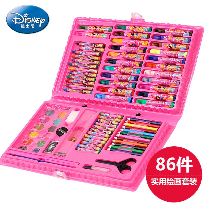 儿童益智绘画文具礼盒86件套装画画玩具画笔蜡笔水彩笔小学生礼物