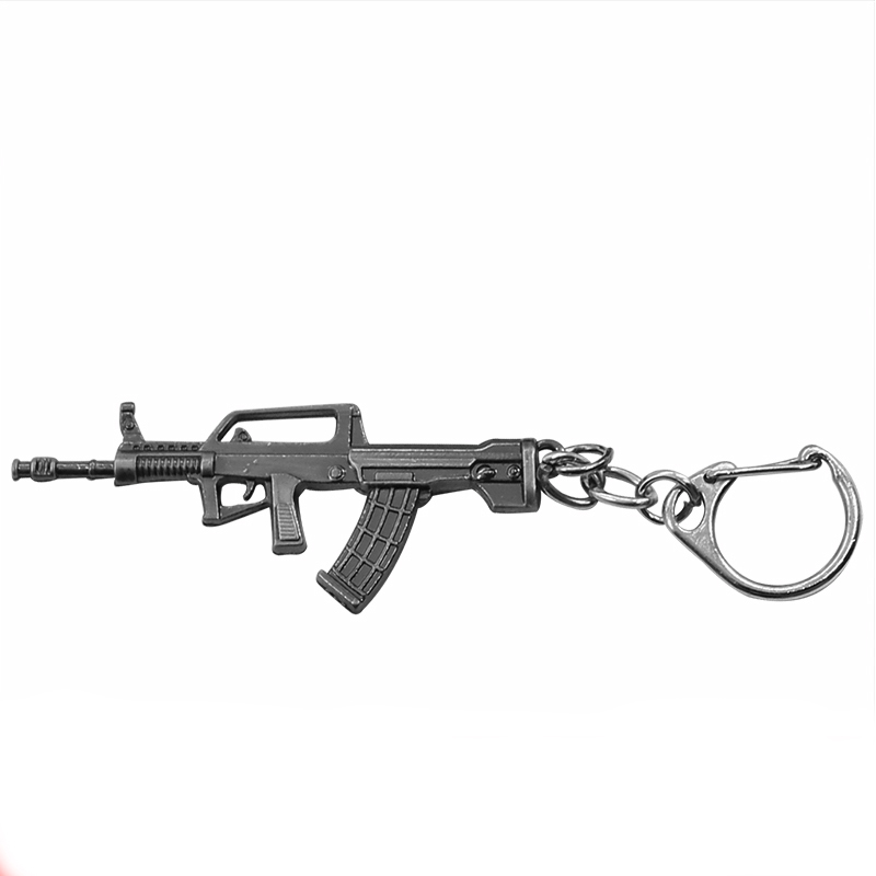 European and American Games around the line of fire small 95 rifle model CF weapon Keychain male key chain