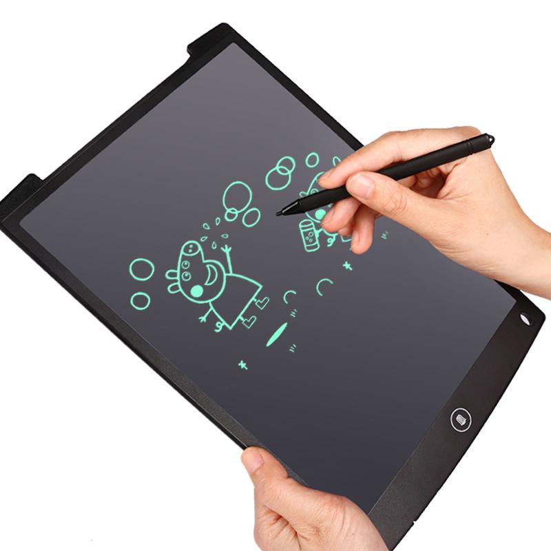 光能液晶小黑板8.5寸彩色环保神奇手写板 儿童画画涂鸦手绘板12寸