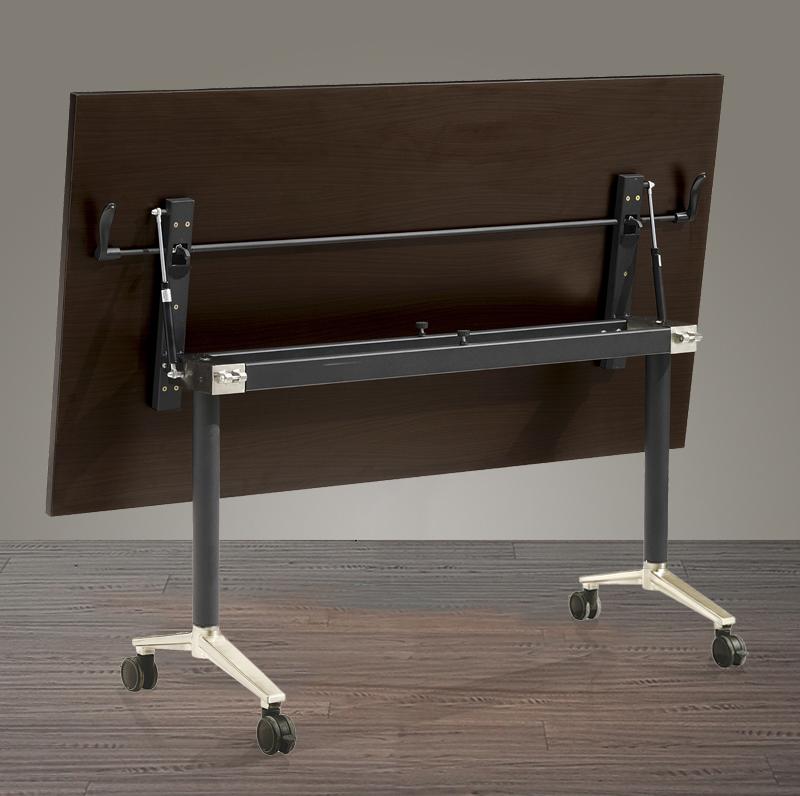 厂家直销可折叠办公桌长条桌会议桌多功能移动桌折叠培训桌电脑桌