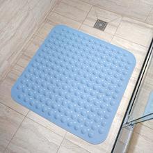 方形淋浴防滑垫卫浴吸盘按摩垫环保垫子