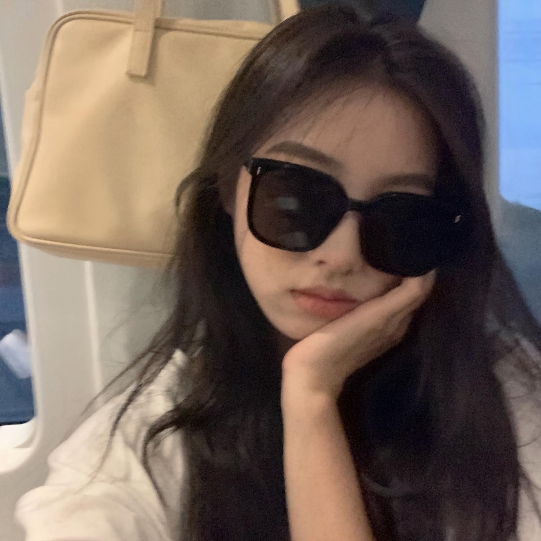 馨帮帮大框显脸小太阳眼镜2021新款时尚复古韩版大脸显瘦墨镜女潮