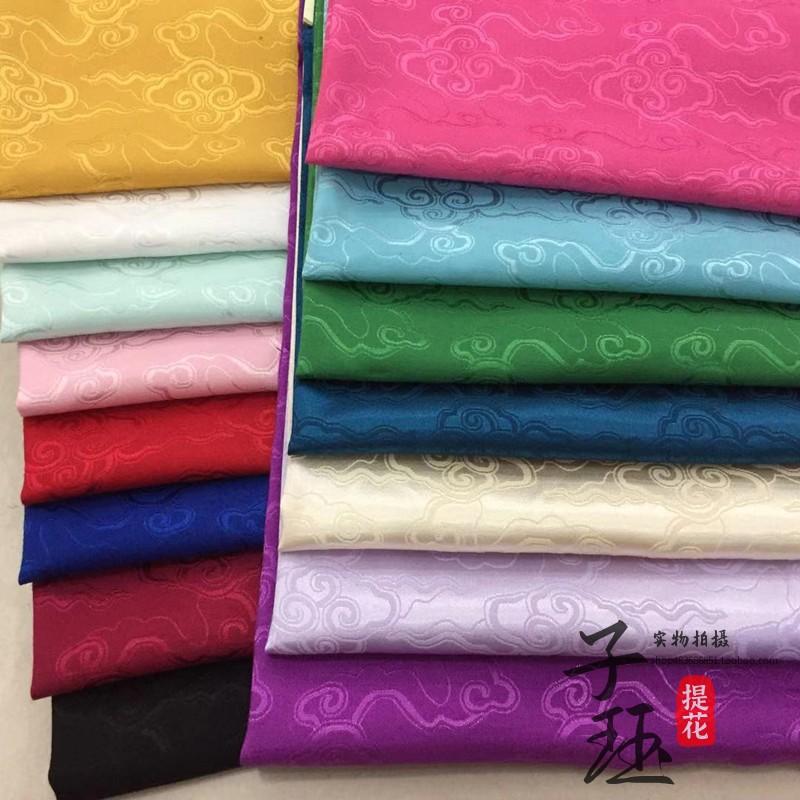 中国風大祥雲漢服の布地は花綿の古風を引き立てます。