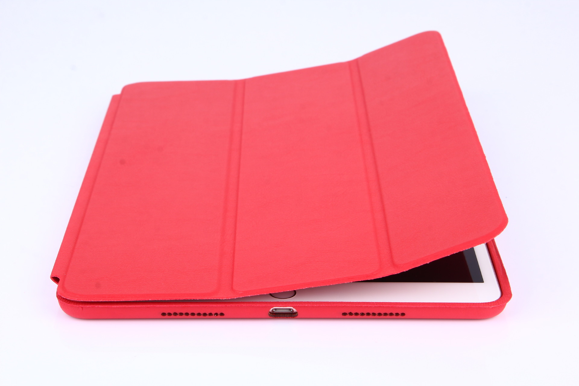 iPad平板电脑10.2保护套三折超薄外壳防摔皮套case配件支架全包边