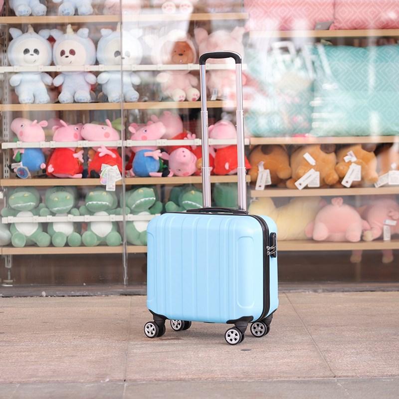 登机20寸旅行李箱女小箱子包14手提化妆箱18皮箱拉杆箱可爱16韩版