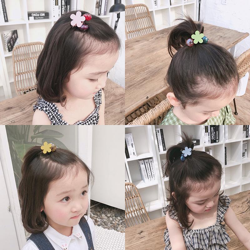 花朵组合韩国女童儿童扎头发发圈券后9.80元