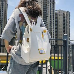 书包女ins风港风韩版大学复古大容量可装电脑双肩包大学生上课包