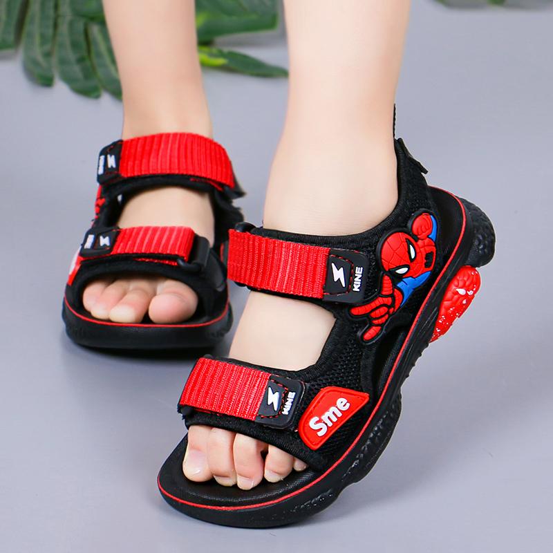 2021夏季韩版新款透气网儿童沙滩鞋