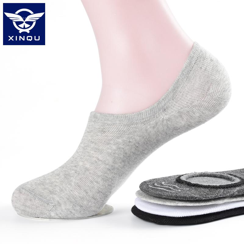 袜子男短袜男士船袜纯棉防臭吸汗夏季薄款低帮浅口运动隐形袜