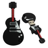 Top Quality 16GB U-disk Guitar USB 2.0 Metal Flash Stick Mem