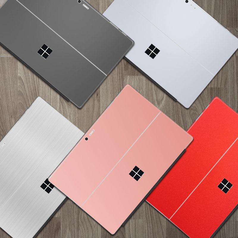 微軟Surface Pro4 pro3背貼平板電腦貼紙pro5背貼膜保護貼膜配件
