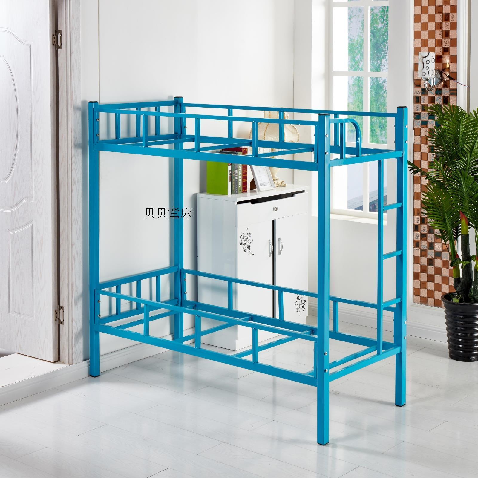 幼儿园专用床儿童床午休床双层床上下铺铁床午托班学生床宿舍用床