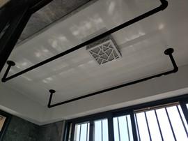 阳台顶装晾衣杆加厚固定挂衣杆壁挂凉衣杆室内外晒衣杆耐用挂衣架
