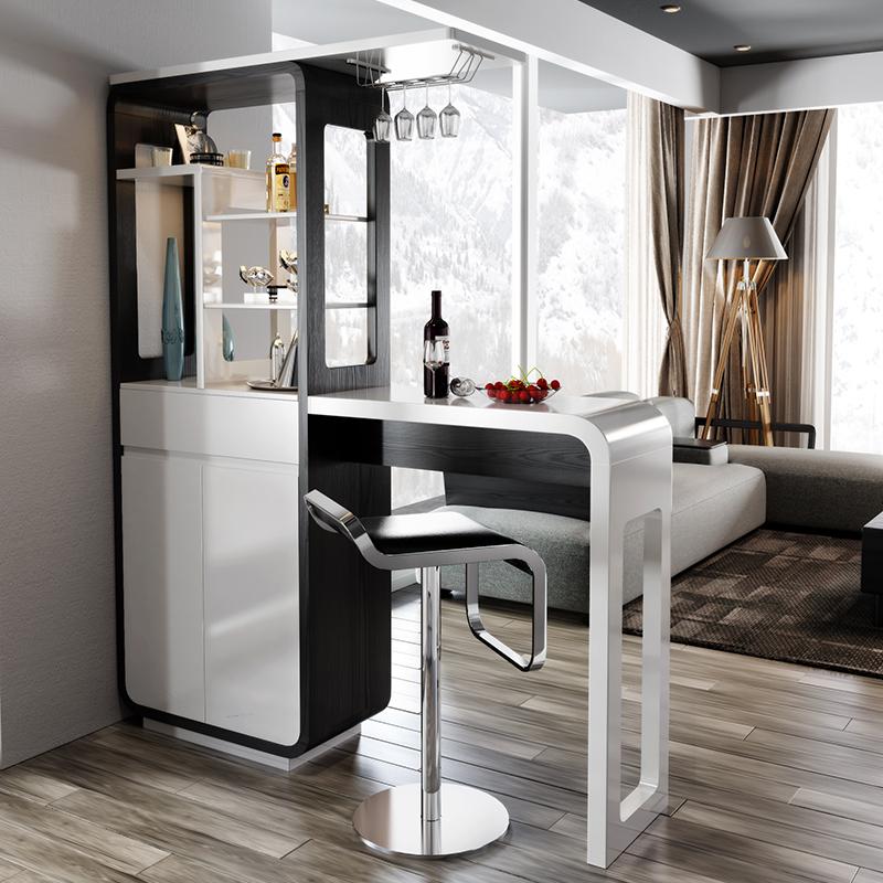 吧台桌家用酒柜吧台客厅餐厅隔断柜鞋柜北欧现代简约小户型玄关柜